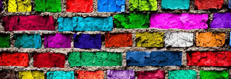 Colore delle pareti idee per il design della casa - Come scegliere il colore esterno della casa ...