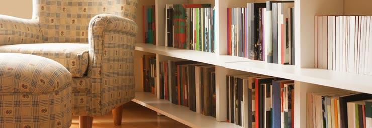 arredare stanza con libreria