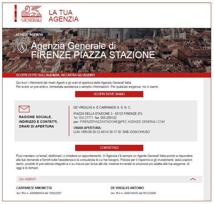 Generali Agenzia Generale Agenzia di Citta' Rocchi A  & C