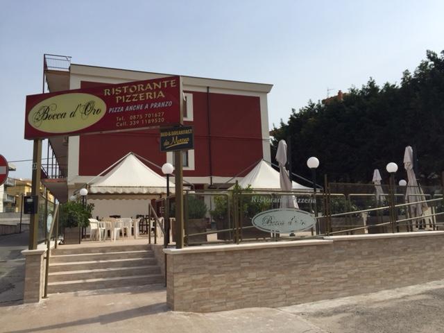 Pizzeria Ristorante Bocca D'Oro - Residence Molise Touring - B And B da Morena