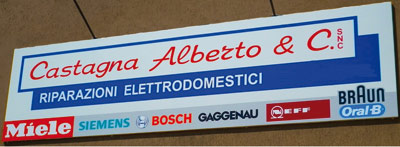 Castagna Alberto & C. - Elettrodomestici - riparazione e vendita ...