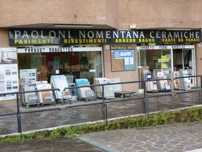 Paoloni Ceramiche Srl Arredo Bagno E Cucine.Paoloni Nomentana Ceramiche Bagno Accessori E Mobili