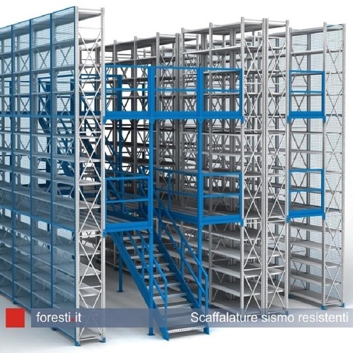 Scaffalature Metalliche Componibili Bari.Foresti Technology Scaffalature Metalliche E Componibili Bologna