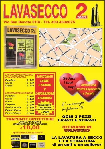 Lavanderie Pulitura it Torri A BolognaPaginegialle Secco Due E2eWDH9IY