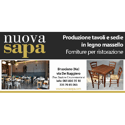 Produzione Sedie E Tavoli In Legno.Nuova Sapa Produzione Sedie E Tavoli A Mariglianella Na