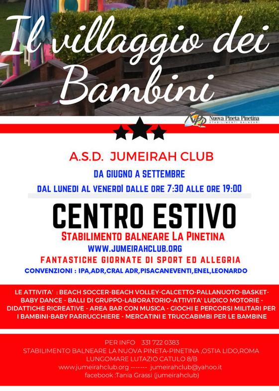 A.S.D. Jumeirah Club Centro Estivo a Lido Di Ostia (RM)