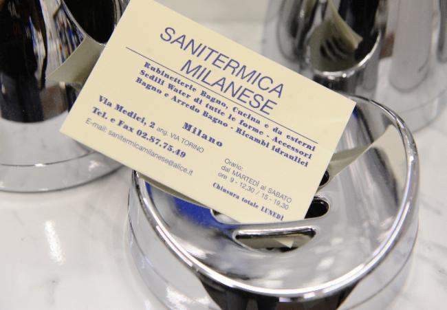 Arredo Bagno Rubinetterie Sanitermica Milanese Di Teresa Giandomenico.Sanitermica Milanese Arredobagno Rubinetterie Di Teresa