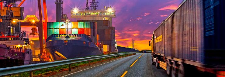 organizzazione trasporto internazionale