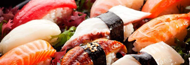preparare sushi in casa
