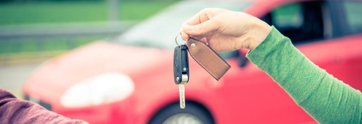 registrare auto al pra