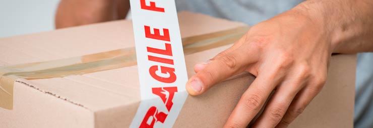 imballare pacco per spedizione