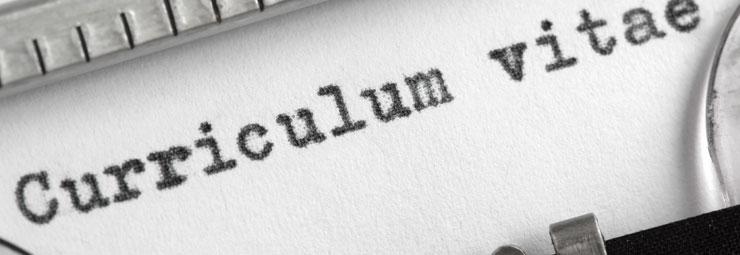 scrivere curriculum