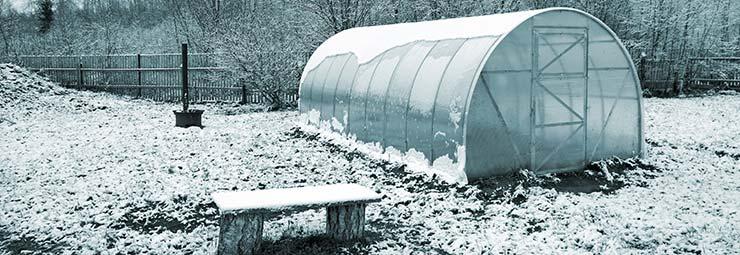 costruire serra invernale