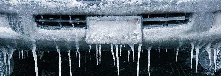 proteggere auto gelo