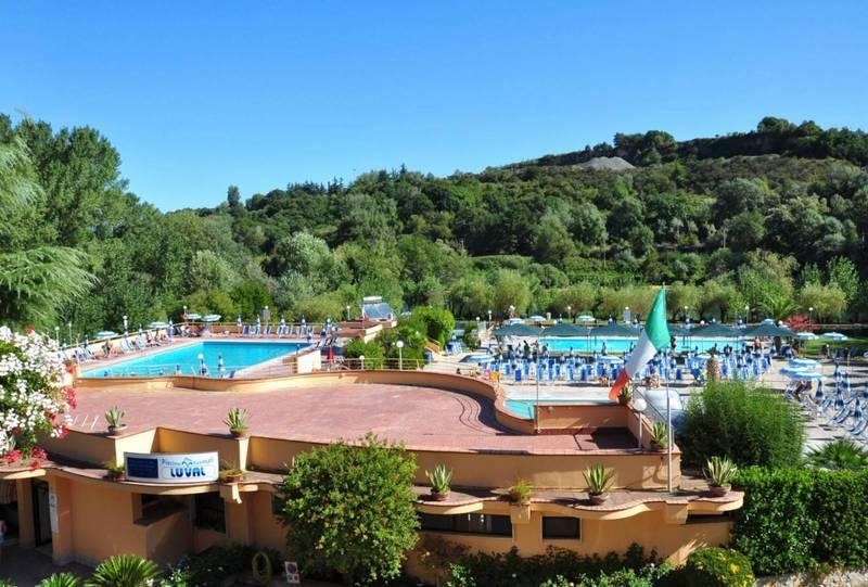 Piscine termali luval castelforte v delle terme - Suio terme piscine ...