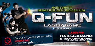 Q-Fun Catania Laser Game