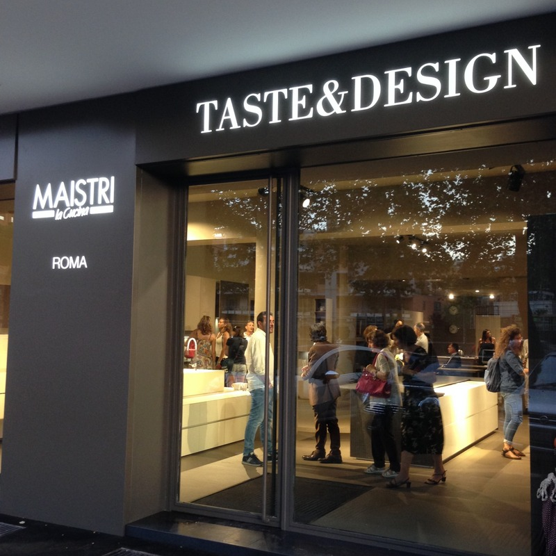 Taste design centro cucine maistri srl roma via for Design ufficio srl roma