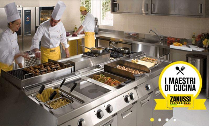 electrolux professional - baldazzimpianti - brescia, via turati ... - Cucine Industriali Zanussi