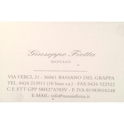 Studio Notarile Fietta Giuseppe - Notai - studi Bassano Del Grappa