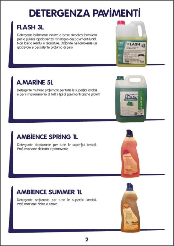 detergenti pavimenti professione pulito