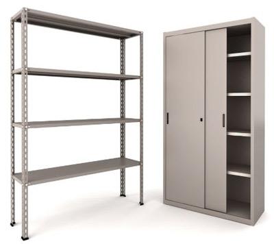 Preventivo per prenotto scaffalature e mobili metallici for Mobili metallici