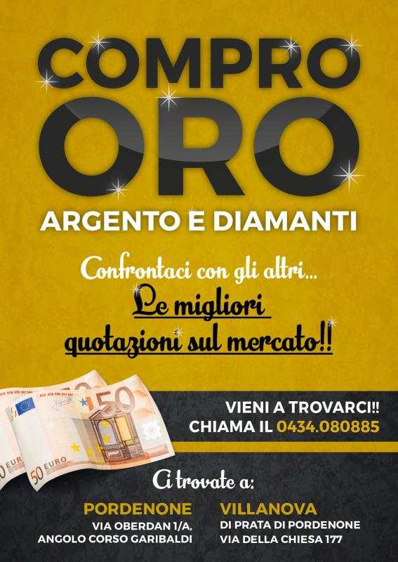 e3ad1045d2 Compro Oro e Vendo Oro Argento e Diamanti Outlet del Gioiello ...