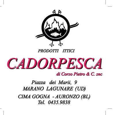 Cadorpesca - Pesci freschi e surgelati - lavorazione e commercio Auronzo Di Cadore
