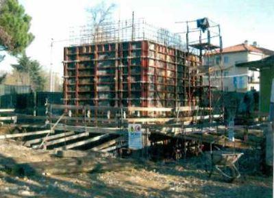 Edificio in costruzione