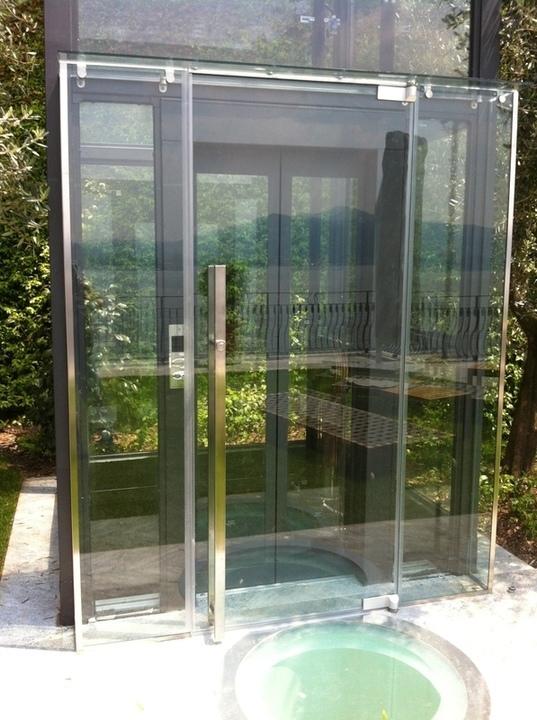costruzioni in vetro