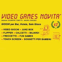 Video Games Novita' - Videogiochi, flippers e biliardini - vendita al dettaglio e noleggio Eraclea