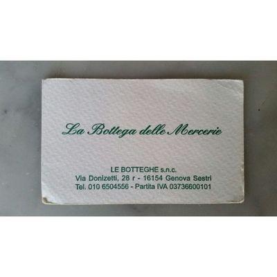 La Bottega delle Mercerie Snc - Mercerie Genova