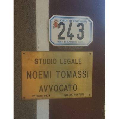 Studio Legale Tomassi Avv. Noemi - Avvocati - studi Frosinone