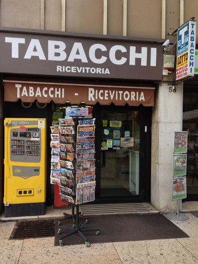 Tabacchi Cangrande - Ricevitorie