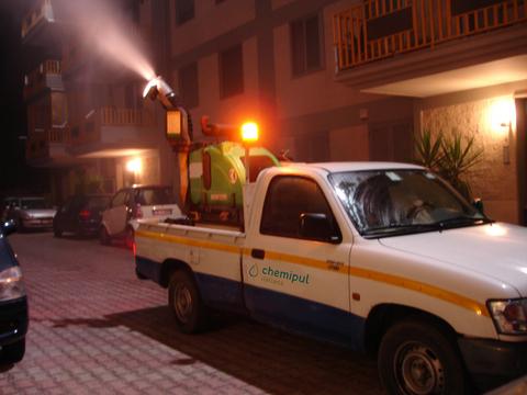 disinfestazione aree verdi CHEMI.PUL. ITALIANA S.R.L