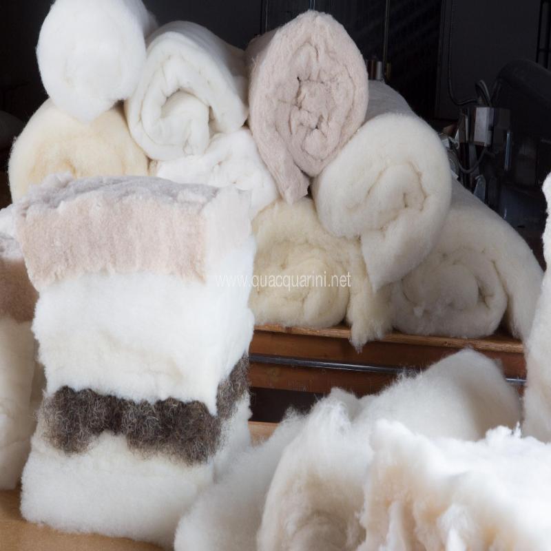 Lana,seta,cotone,cashmere,crine di cavallo