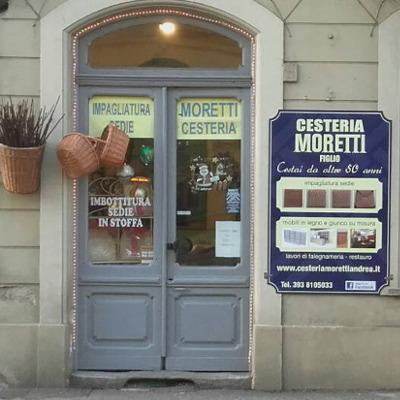 Impagliatura Sedie Emilia Romagna.Cesteria Moretti Andrea Torino Corso Casale 227