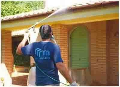 lavaggio tetto
