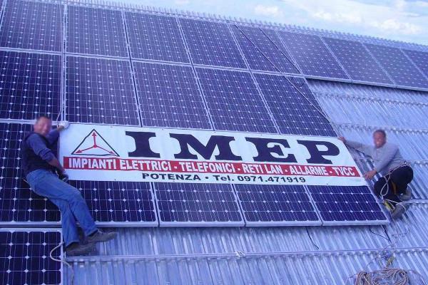 Pannelli solari IMEP