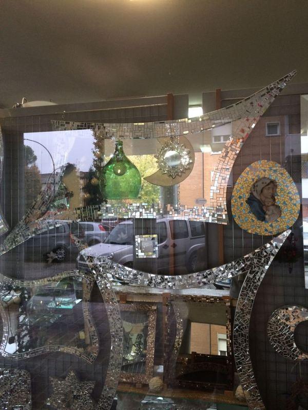 Specchi a mosaico Vetreria Forlivese
