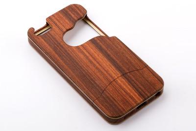 custodia smartphone Cometa legno