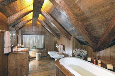 Bagno in legno Galleria del tarlo