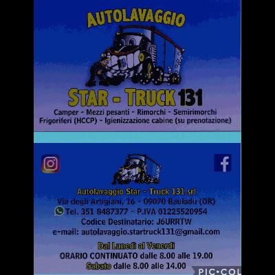 Autolavaggio Star - Truck 131 - Autolavaggio Bauladu