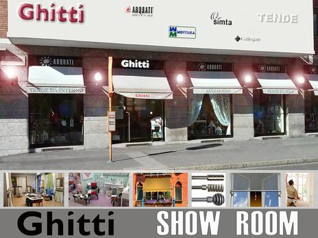 Ghitti Show Room Tende