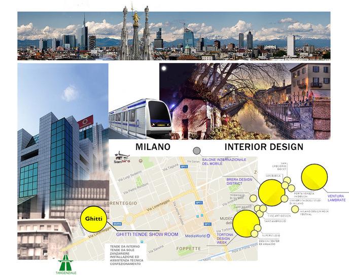 Ghitti Tende Milano Interior Design