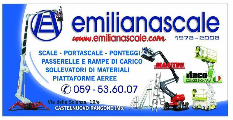 MONTACARICHI ED ELEVATORI emiliana scale