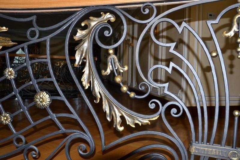 Decorazioni in ferro battuto