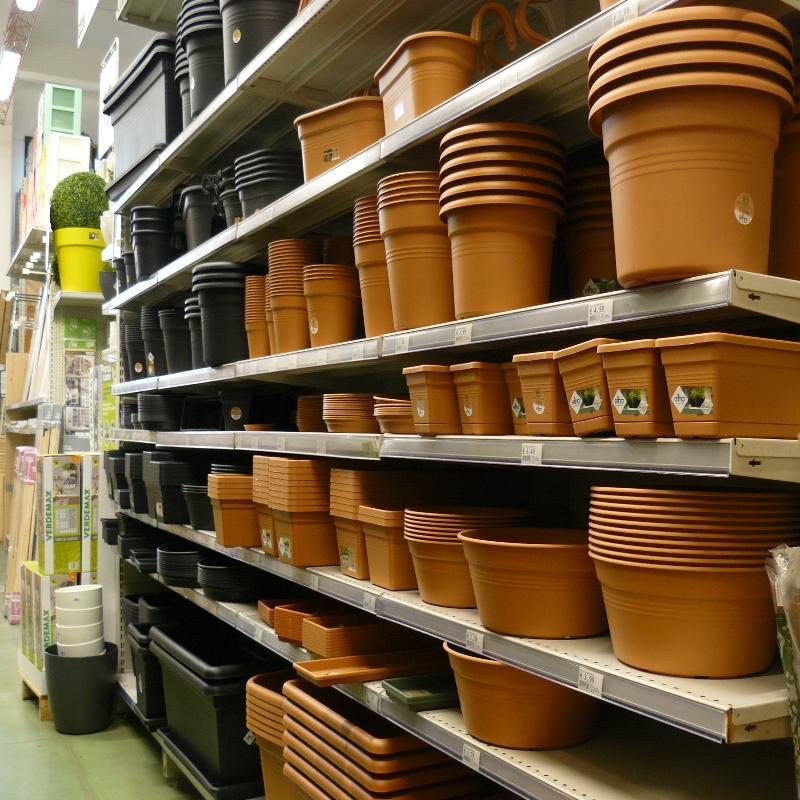 giardinaggio, vasi, Elho, fiori, piante, terriccio, arredo giardino