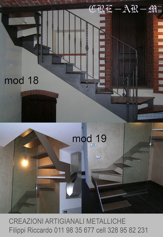 scale di ferro Creazioni Artigianali Metalliche