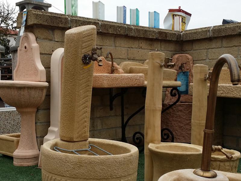 Camini e fontane in pietra Conzato Angelo
