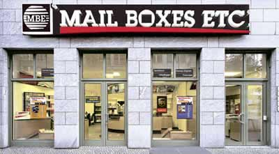 Mail Boxes Etc. Nube Dream Snc - Mbe 301